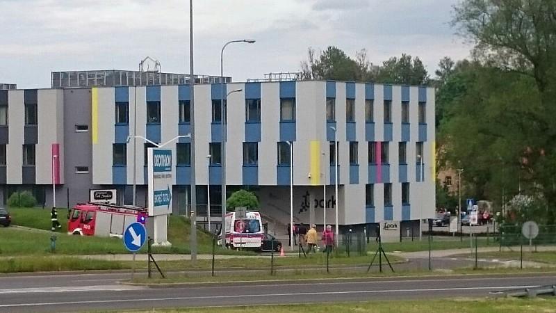 Ewakuacja w budynku DARR