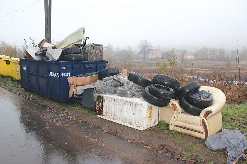 Odbiorają odpady