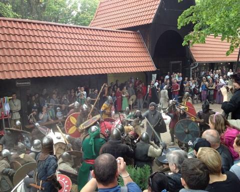 Jarmark Średniowieczny na Zamku Grodno