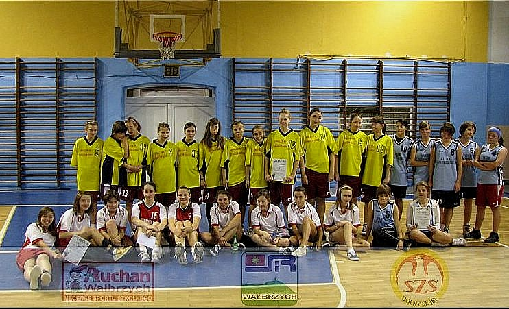 Półfinał strefowy koszykówki dziewcząt