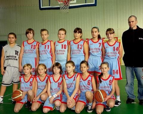 Waleczne koszykarki Mniszka