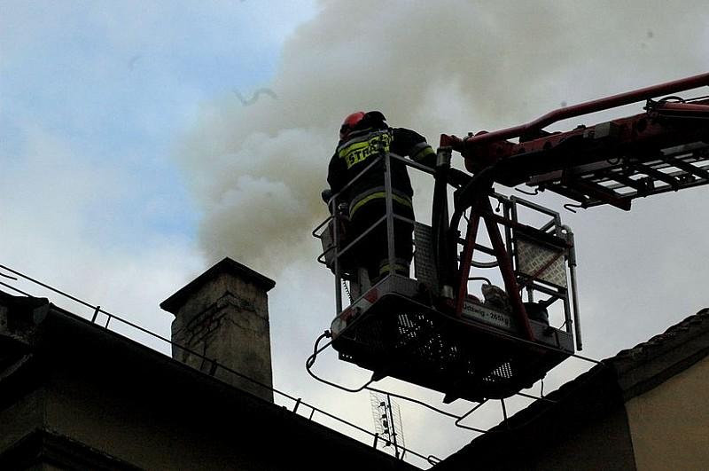 Kolejny pożar sadzy w kominie
