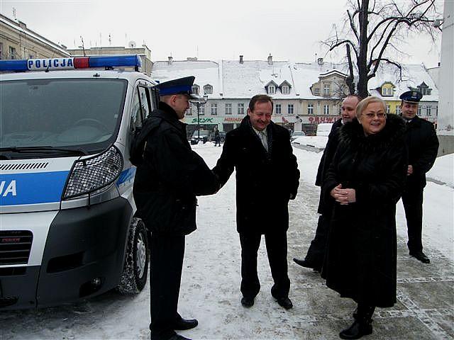 """Nowa """"fura"""" dla policji"""