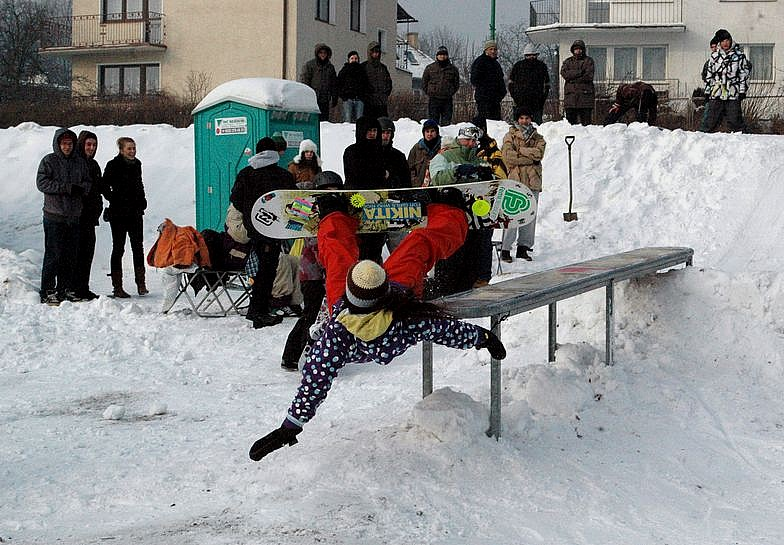 Fotorelacja: Street Snowboard Świdnica