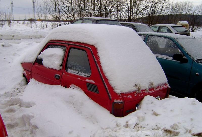 W końcu zniknie pod śniegiem