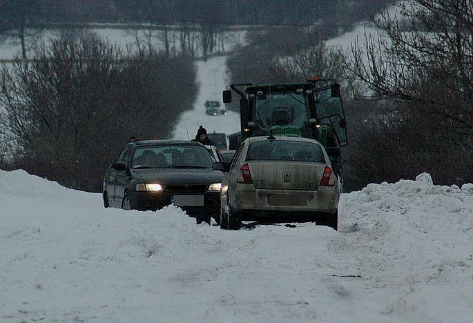 Intensywne opadu śniegu!