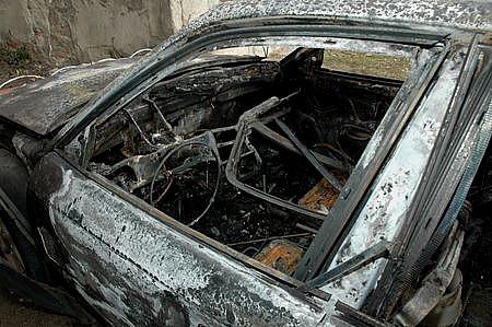 """Spalił """"koledze"""" auto"""