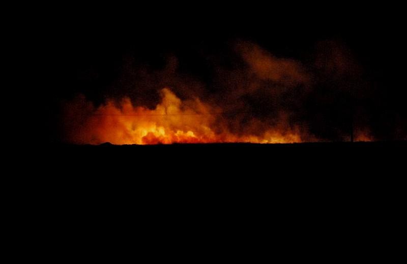 Kolejne pożary traw