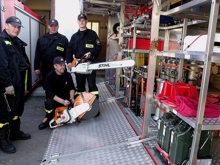 Nowy nabytek straży pożarnej