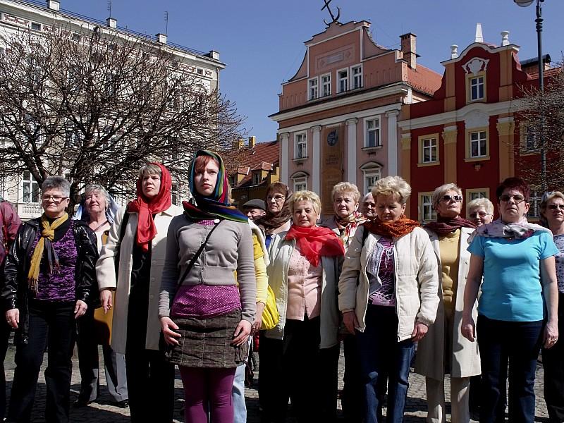 Atak przestrzeni w centrum Wałbrzycha