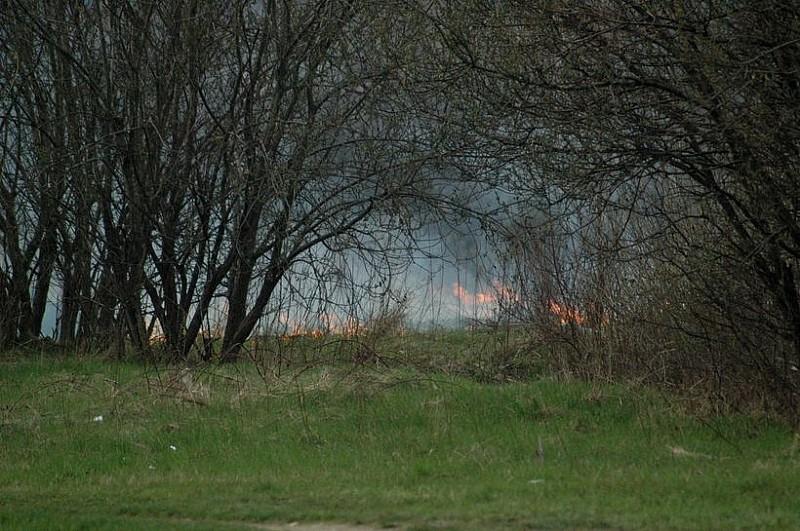 Te pożary zagrażają kierowcom!