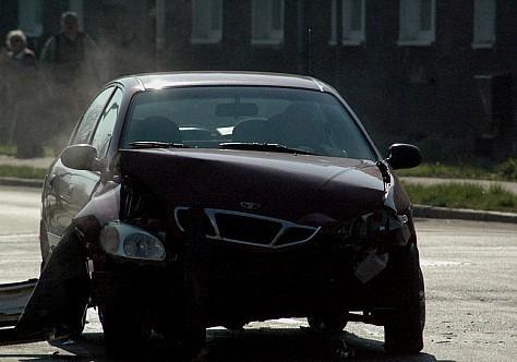 Groźny wypadek na skrzyżowaniu