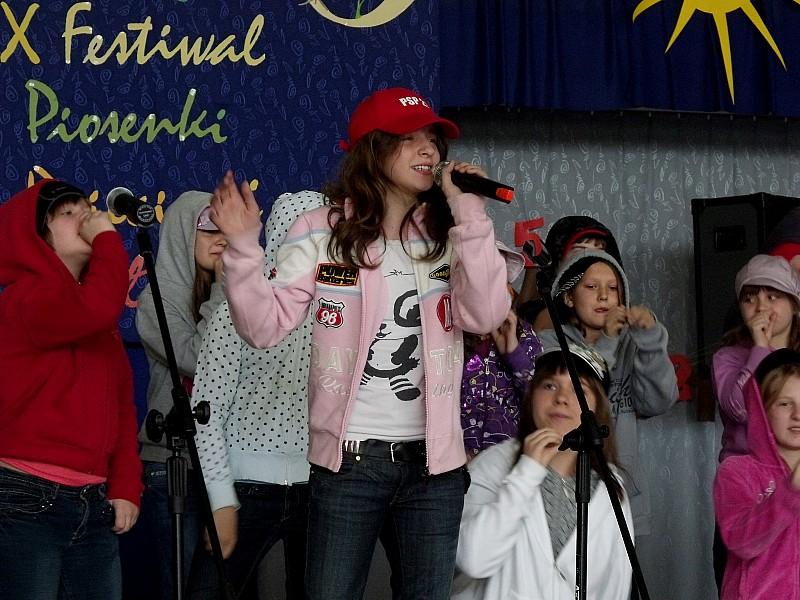Rozśpiewane dzieciaki w PSP nr 21