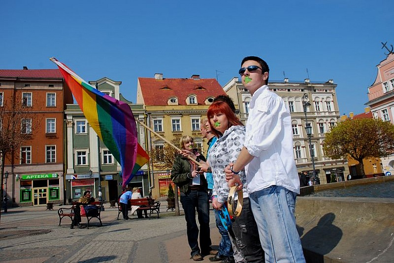 Dzień milczenia w Wałbrzychu