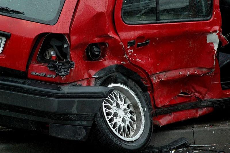 Kolejny groźny wypadek - zdjęcia