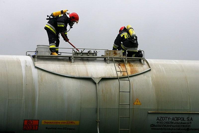Zapobiegli katastrofie chemicznej - foto