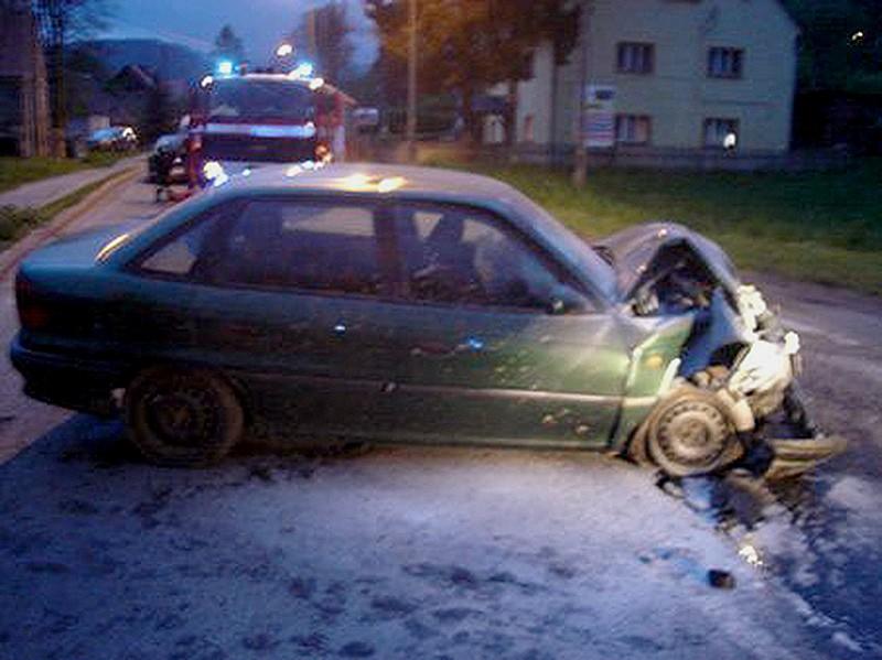 Pijany ojciec spowodował wypadek