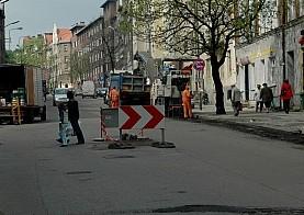Remont ulicy Piłsudskiego