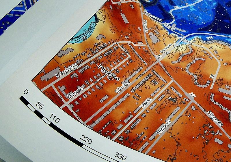 Mapy ostrzegające przed powodzią