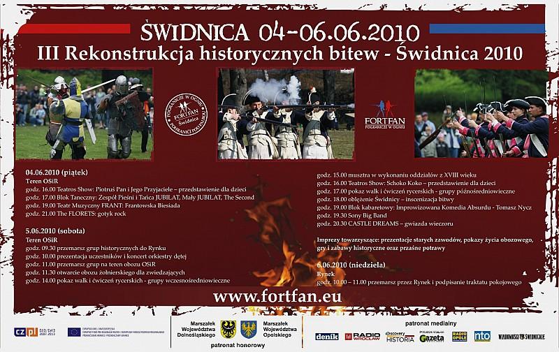 Historyczne bitwy w Świdnicy