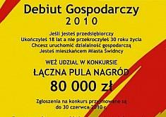"Rusza konkurs ""Debiut gospodarczy"""