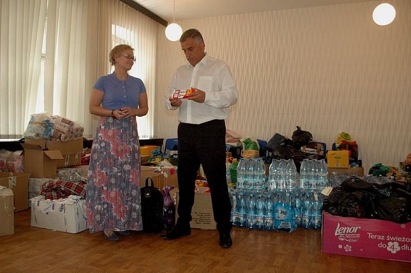 Wolontariusze jadą pomóc powodzianom