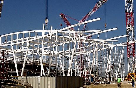 Trwa budowa nowego terminalu lotniska