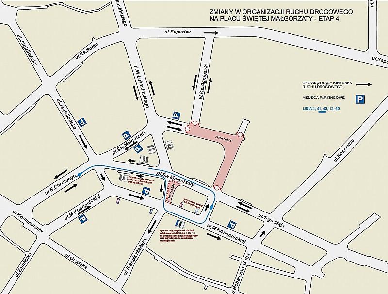 Zmiana organizacji ruchu w Świdnicy