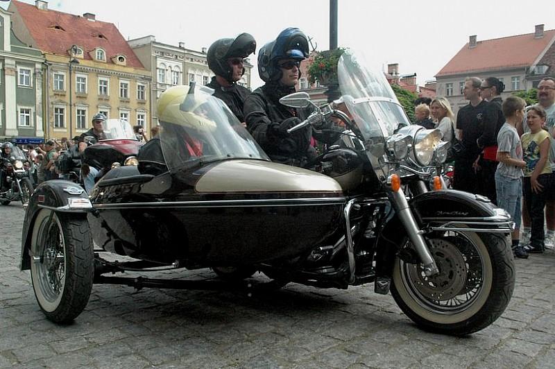 """Harley""""e opanowały Wałbrzych - zdjęcia"""