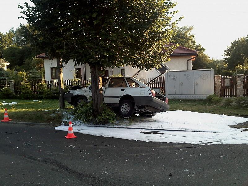 Wypadek na Wyszyńskiego - zdjęcia
