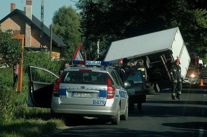 Wypadek na trasie Świdnica - Dzierżoniów