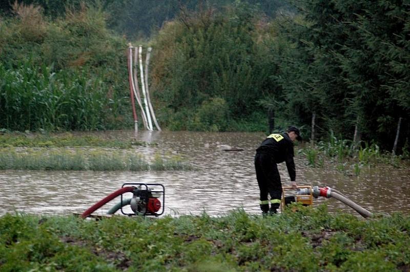 Panków k.Świdnicy pod wodą
