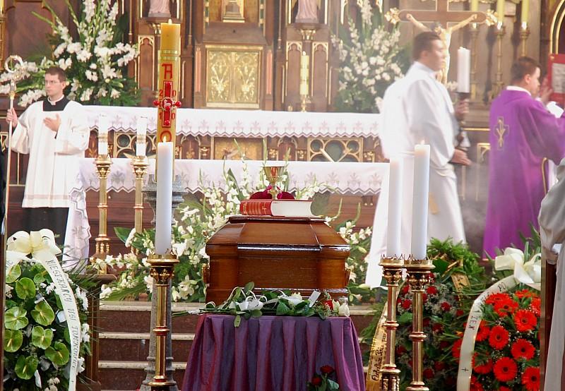 Pogrzeb ks. Siwca
