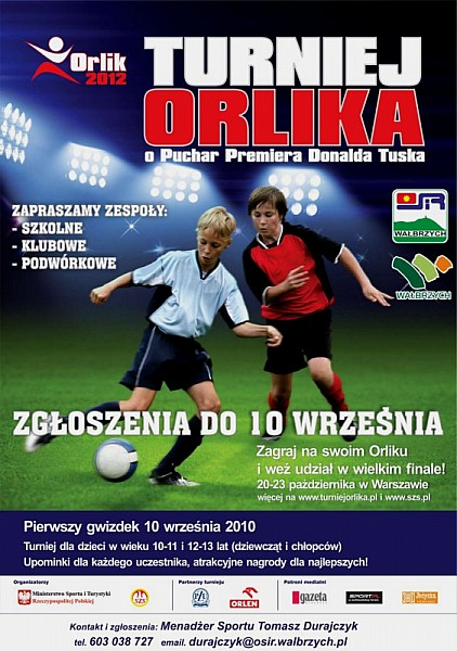 Turniej Orlika w piłkę nożną