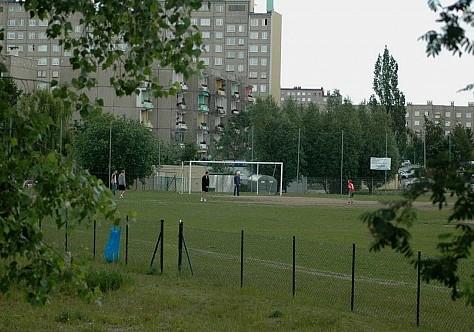 Wybudowali kolejne boisko