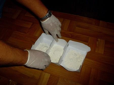 Amfetamina w koszu na śmieci
