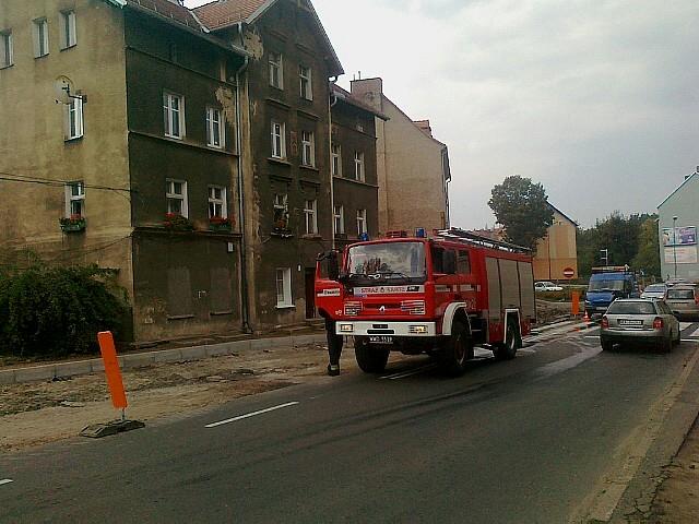 Szybka akcja zapobiegła pożarowi