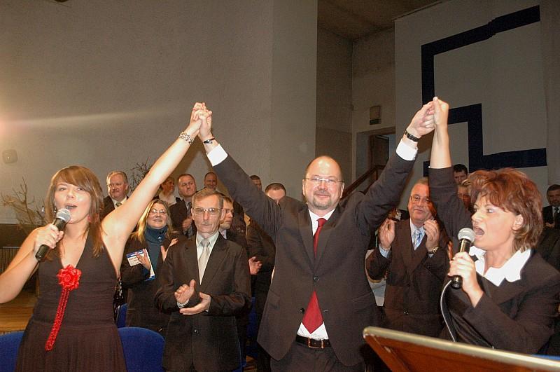 Lubiński rozpoczął walkę o urząd