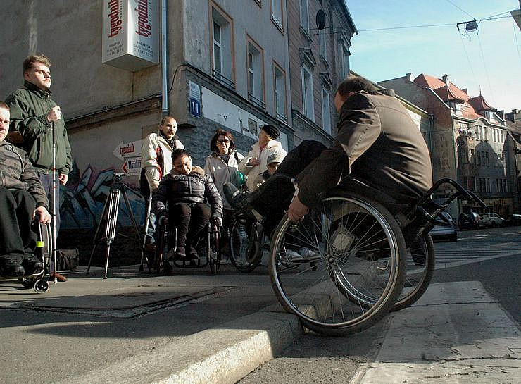 """Prezydent"" na wózku"