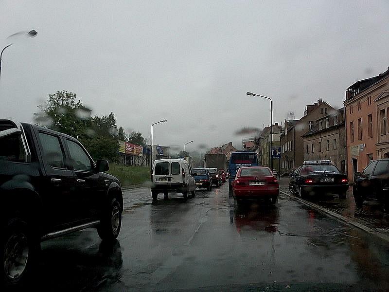 Wałbrzyski horror drogowy
