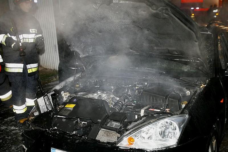 Dwa pożary aut w jednym dniu