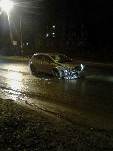 Wypadek koło Qubusa