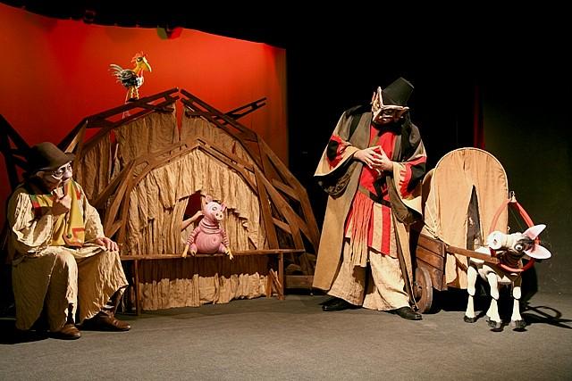 Calineczka w Teatrze Lalki i Aktora