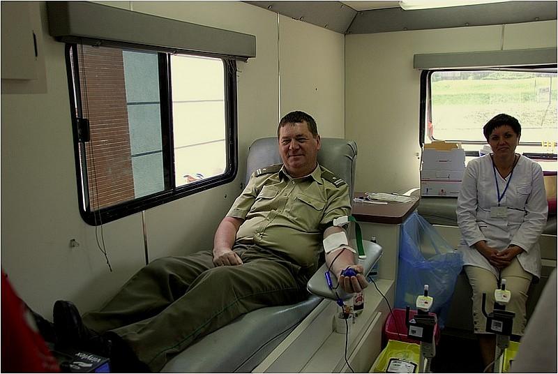 Pogranicznicy oddali krew