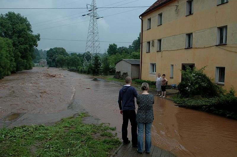 Fotorelacja: powódź w Głuszycy