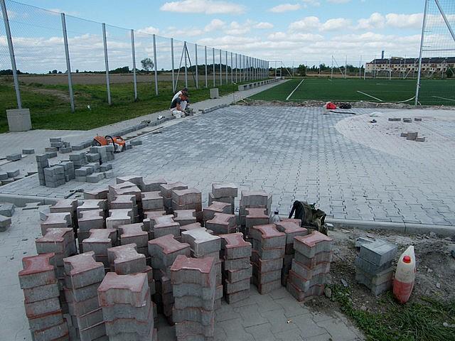 Budują plac dla sportowców