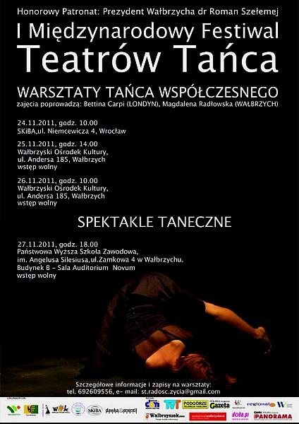 I Międzynarodowy Festiwal Teatrów Tańca