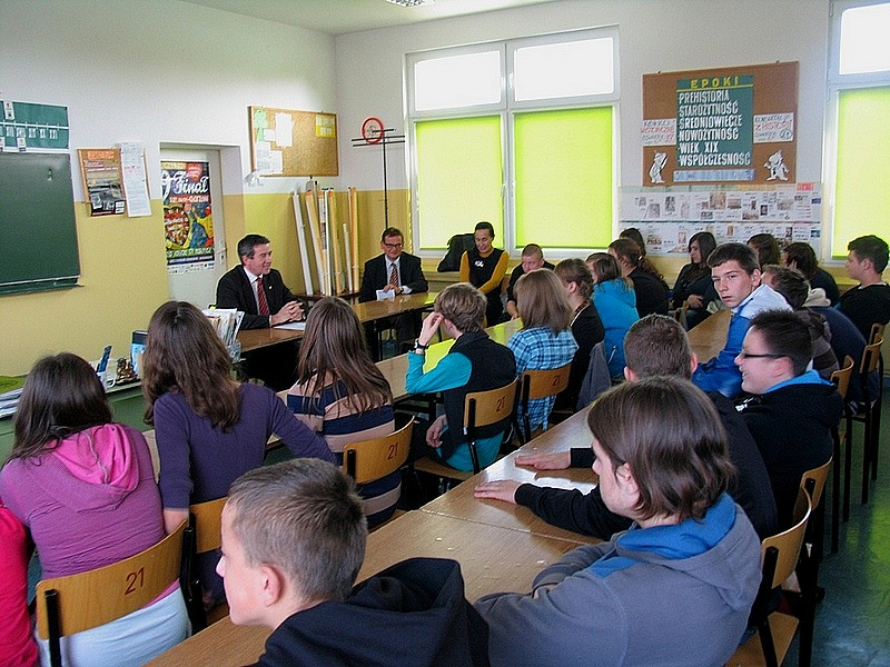 Wojciech Murdzek nauczycielem w gimnazjum