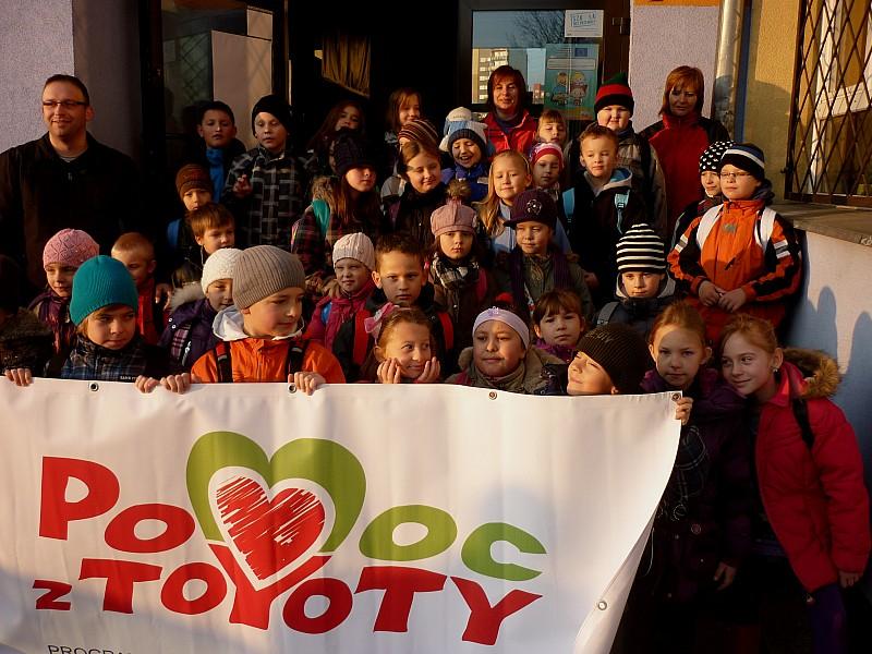 Wycieczka z Toyotą