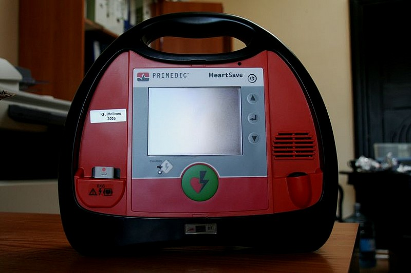Defibrylator w PWSZ AS